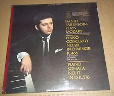 Barenboim MOZART Piano Concerto No.20, Sonata No.17 - Angel S-36430 SEALED
