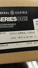 IC610MDL106A GE SERIES ONE PROGRAMMABLE CONTROLLER