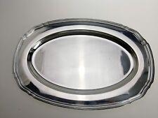 Grand plat en métal argenté signé Christofle XXème