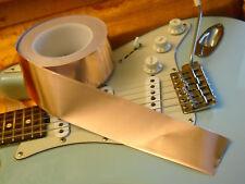 "3 FEET X 50mm Copper Foil Tape EMI Shielding / Single-Coil Guitars / 3 ft X 2"""