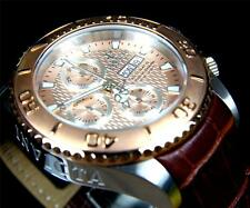 Invicta Reserve Pro Diver Swiss Automatic Sellita SW500 Brown Leather 18917 New