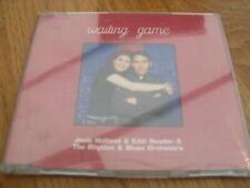 JOOLS HOLLAND & EDDI READER - WAITING GAME 4 TRACK CD SINGLE  TOGA 013CD