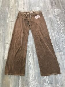 Juicy Couture Brown Velvet Pants Size Small