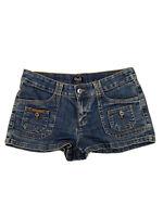 D&G Dolce & Gabbana Denim Jean Shorts Blue Womens Size 29 Vintage EUC
