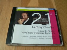 Chailly - 21st Century Classics - Hindemith, Debussy, Messiaen, Berio - CD Decca