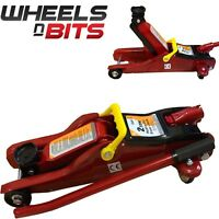 2 Tonne Low Profile Hydraulic Trolley Floor Jack Garage Lifting Car Van 2000KG