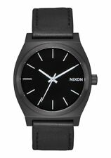 Nixon TIME TELLER , 37 MM, ALL BLACK / WHITE, Armbanduhr, A045-756