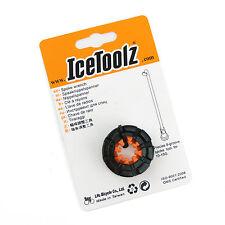 IceToolz 12F8 Forged 8-Groove Spoke Wrench / Bike Cr-Mo Steel 10-15G Wheel Tool