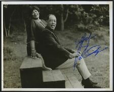 Duke ELLINGTON & Ella FITZGERALD (Jazz): Signed Photograph