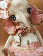 Ready to Ship Alla Bears artist art doll heart Spring love toy Confirmation girl