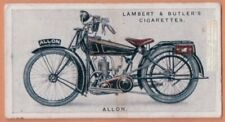 Vintage Motorcycle Allon Two Stroke Alldays and Onions 1923 Trade Ad Card