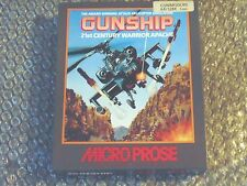 C64/128 Destroyer 21ST siècle GUERRIER APACHE 1988 Microprose Commodore 64/128 cas
