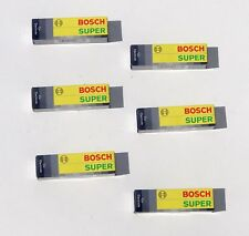6 BOSCH SUPER w7DC Plugs Spark Plug kit Set for Mercedes 230sL 250se 280se 280sL