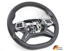 MB Mercedes ML GL w164 w166 AMG Volant Volant en cuir NOUVEAU réfèrent aplatie