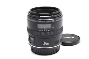 Excellent Canon EF 50mm f2.5 Compact-Macro Lens #33397