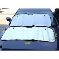 Car Front Rear Window Screen Sun Shade Mesh Cover Windshield Sunshade Visor