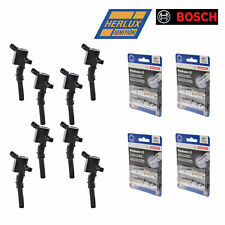 8 Herko B029 Ignition Coils For Ford Lincoln Mercury and Bosch Spark Plugs 4305