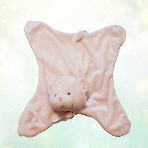 My First Teddy Bear Baby Gund  Comfy Cozy Pink Security Blanket Lovey 058892
