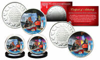CANADA 150 ANNIV. 2017 Loonie Dollar Design on RCM Medallions 2-Coin Canada Set