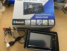 KENWOOD  DDX4017 DAB DVD BLUETOOTH USB