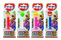 Brandneu Nintendo Pez Spender + Nachfüllpack Mario Toad Yoshi Princess Peach