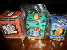 Applause Walt Disney The Lion King Set of 3 Nesting Tin Boxes NEW