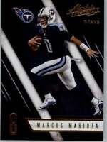 2016 Absolute Football #s 1-200 +Rookies+ - You Pick - Buy 10+ cards FREE SHIP