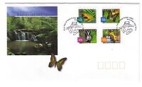 "2003 FDC. Australia. Nature, Rainforests. P&S. ""Frog"" PictFDI ""MOSSMAN"""