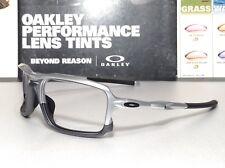 d9fbb17aa5 Oakley Triggerman Silver frame w  Matte Black Oakley Icons - SKU  9266-08