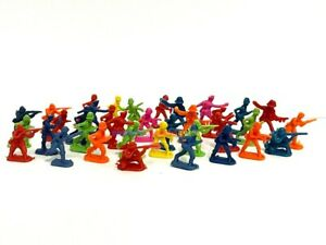 1:72 New Plastic Army Men Figures (100pcs) Military Set Toy Soldiers Multi Color