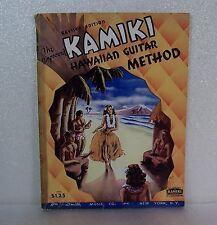 The Improved Kamiki Hawaiian Guitar Method, Vintage 1938 Instructional Songbook
