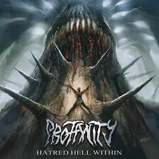 """Profanity """"Hatred Hell Within"""" MCD [LEGENDARY BRUTAL TECHNIC DEATH FROM GERMANY]"""