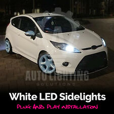 Ford Fiesta MK7 Mk 7 Xenon White LED Side Light sidelights Upgrade Bulbs