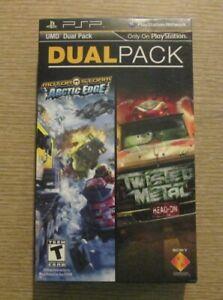 UMD Dual Pack: MotorStorm: Arctic Edge + Twisted Metal: Head-On (Sony PSP, 2012)
