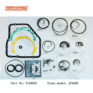 JF404E Transmission Rebuild Kit Overhaul Seals Ring For NISSAN Transpeed T15802A