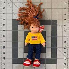 Ty Teenie Beanie Boppers AMERICAN MILLIE Doll 2002