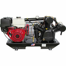 Puma 13-HP Tankless Two-Stage Truck Mount Air Compressor w/ Honda Engine