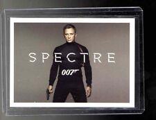 2015 JAMES BOND 007 ARCHIVES Spectre Preview Case Topper card presale