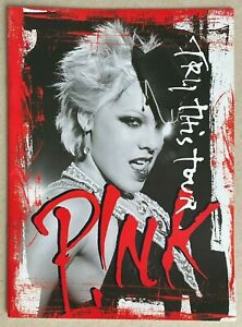 PINK (P!NK) * TRY THIS TOUR PROGRAMME * 2004 * HTF! * TROUBLE * LAST TO KNOW