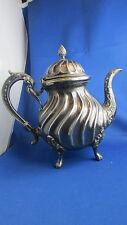 ancienne cafetiere theiere metal argenté poinconné epoque 1900 style LXV anglais