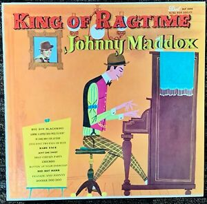 Johnny Maddox - King of Ragtime MOST REQUESTED SONGS  DOT DLP 3044 - VG