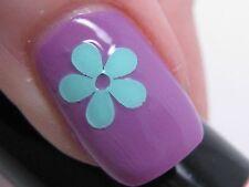 Flowers Fingernail Art Decal Stickers Nail Vinyls