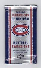 Montreal Canadiens , 1 unopened pack , MacDonald - Upperdeck