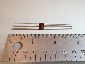 100 ohm 1/4 watt 5% Allen & Bradley Resistor (5 pack)