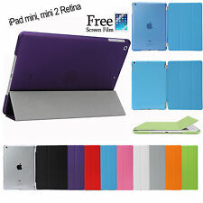 Smart Cover and Hard Back Case for iPad mini 3 2 1
