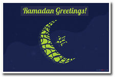 Ramadan Greetings - NEW Holiday Season Celebration POSTER
