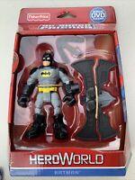 Fisher-Price Hero World Batman DC Super Friends Batarangs Action Figure Toy New