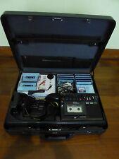 Vintage Linguaphone English Language Learning Kit Briefcase Cassette Tape Player