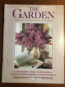 THE ROYAL HORTICULTURAL SOCIETY THE GARDEN JOURNAL MAY 1994 VOL 119 PART 5