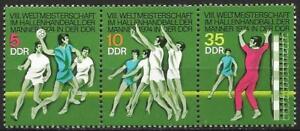 Germany (East) DDR GDR 1974 MNH - Sports - World Indoor Handball Championships